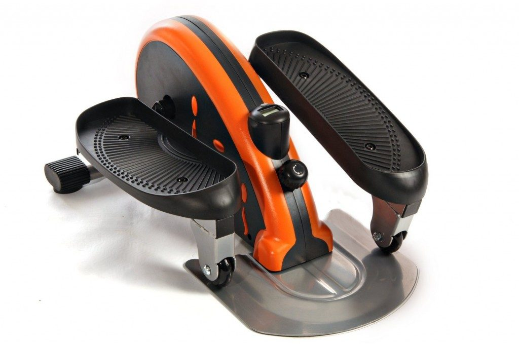 Stamina In-Motion Elliptical Trainer in Orange!