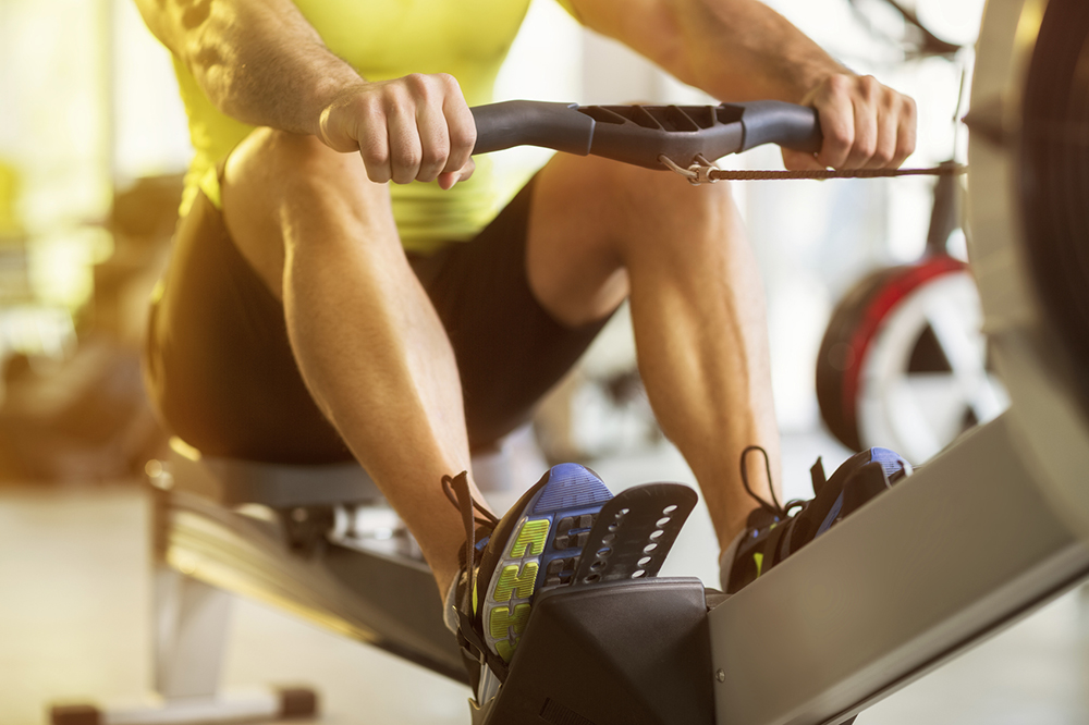 home fitness with rowing machines